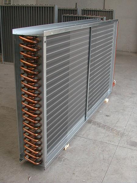 D B M  Continuous Fin Type Heat Exchangers